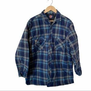 Dickies flannel shirt jacket shacket XL